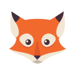 The Ludicrum mascot Ludifox. Illustration