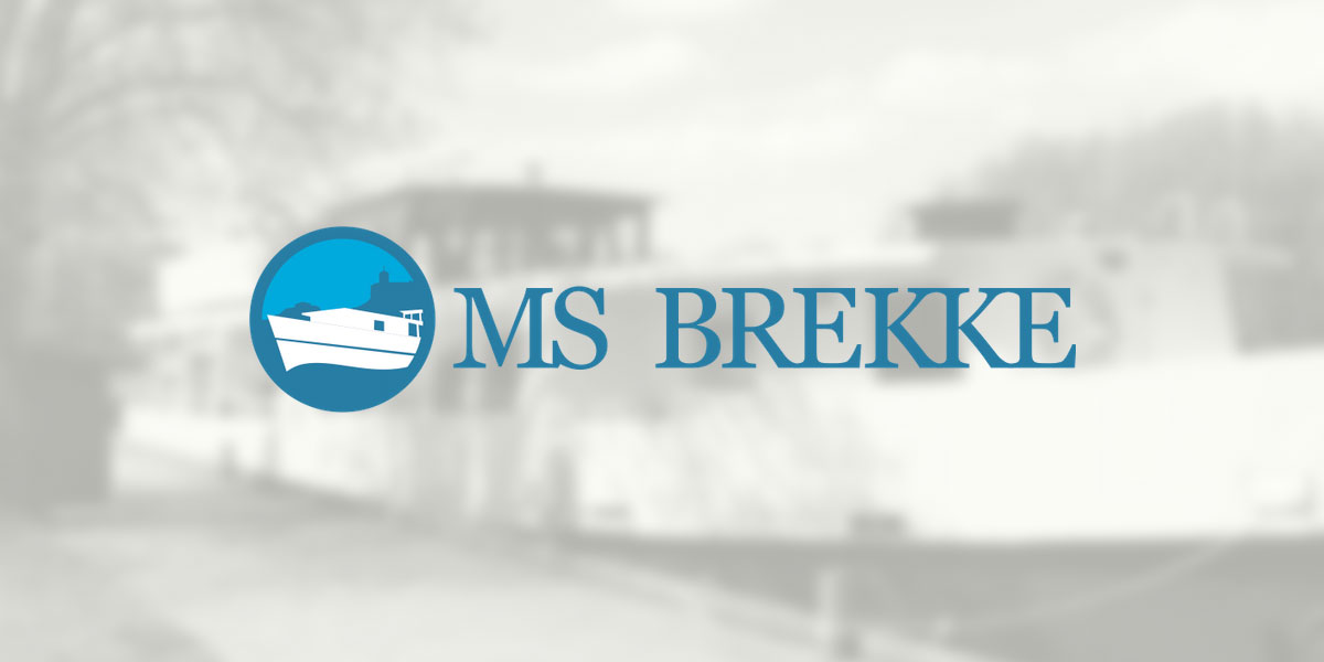 Logo for MS Brekke